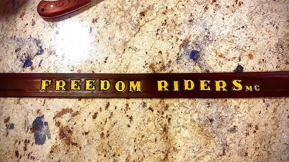 Vern's Freedom Riders Belt