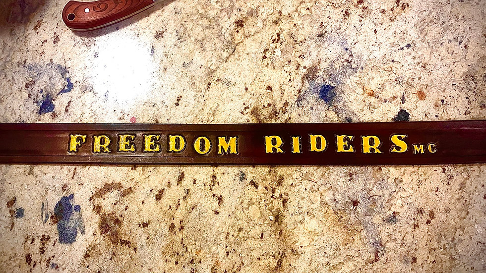 Bob's Freedom Riders Belt