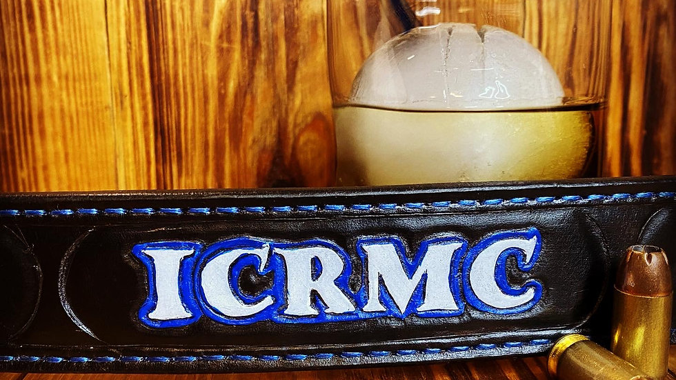 ICR Motorcycle Club Belts
