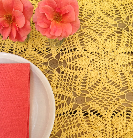 crochet yellow