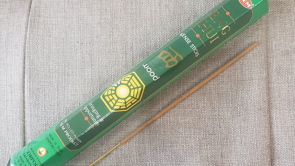 Feng Shui Wood Incense