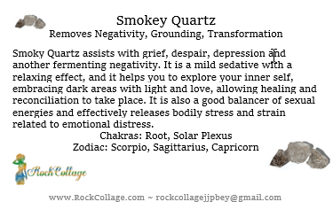 Collage Stone: Smokey Quartz