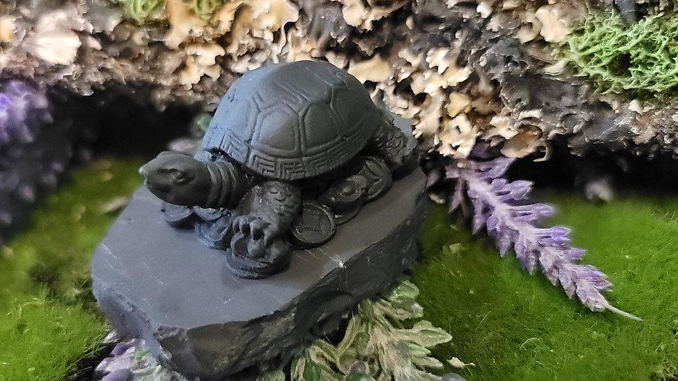 Abundance Shungite Turtle