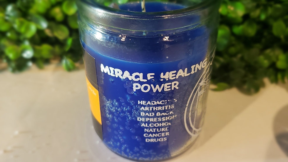 Healing Miracles Candle