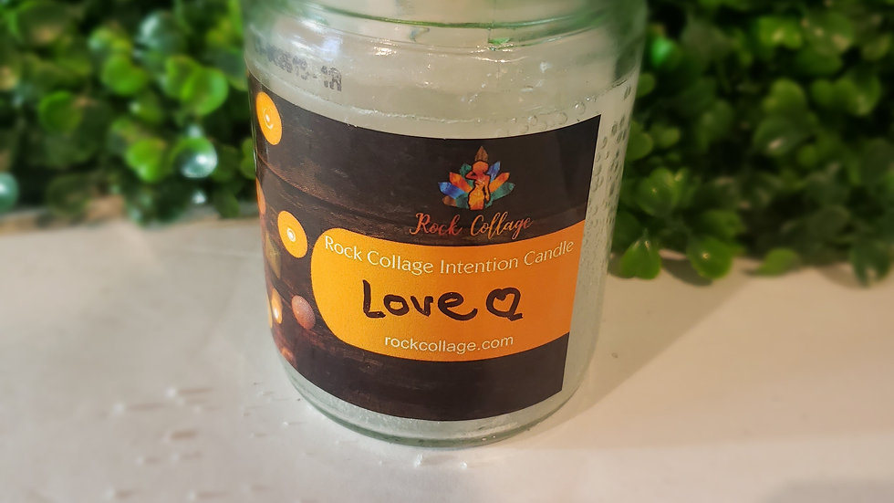 Love Sage Intention Candle