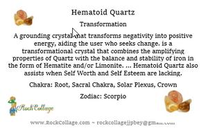 Hematoid Quartz: the Crystal of New Beginnings