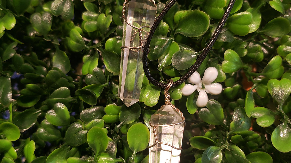Crystal Clear Quartz wire Wrapped