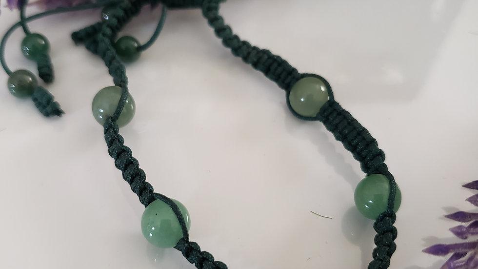 Aventurine Rope Bracelet