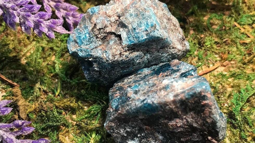 Blue Apatite (Raw)
