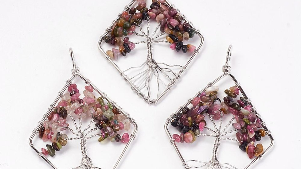 Crystal Tree Wire Wrapped