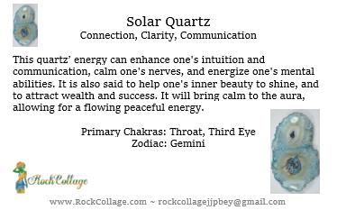 Collage Stone: Solar Quartz