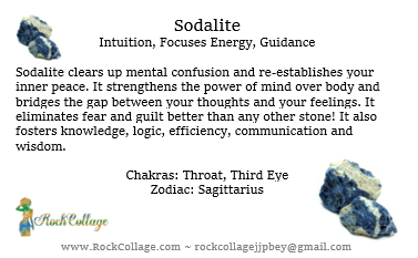 Collage Stone: Sodalite