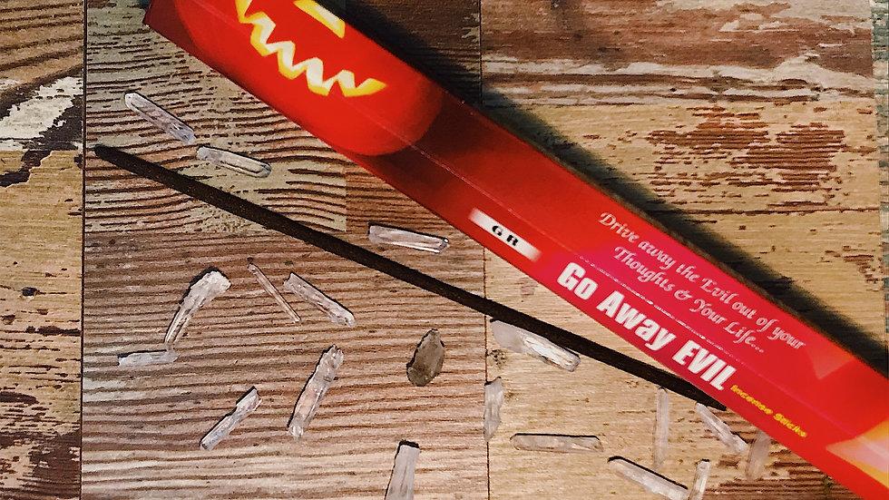 Evil Go Away Incense