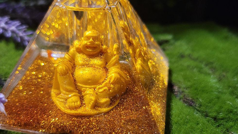 Gold Buddha Pyramid