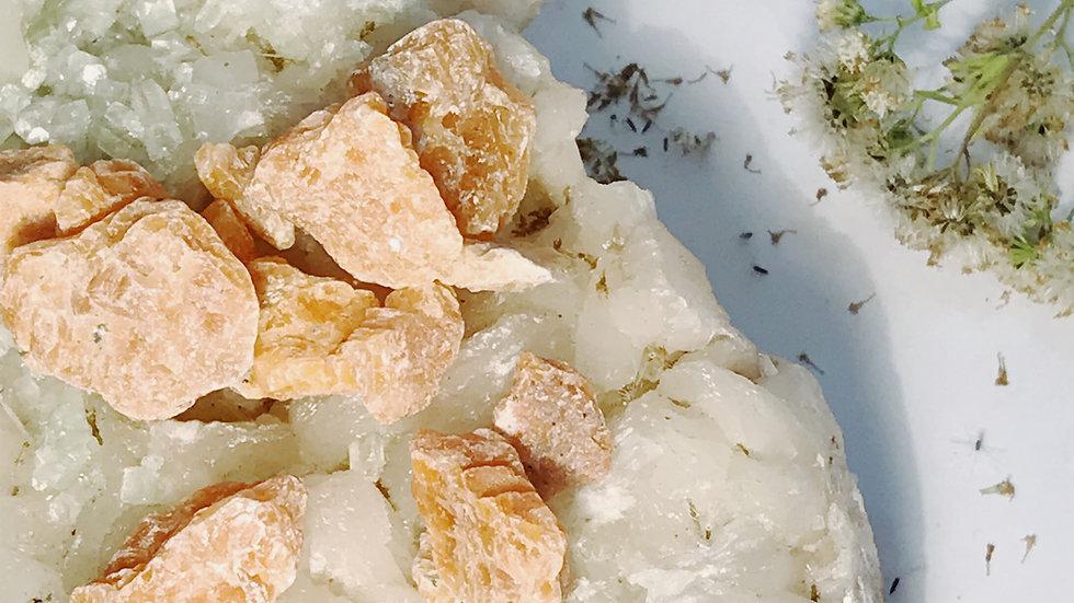 Orange Calcite Chips (set)