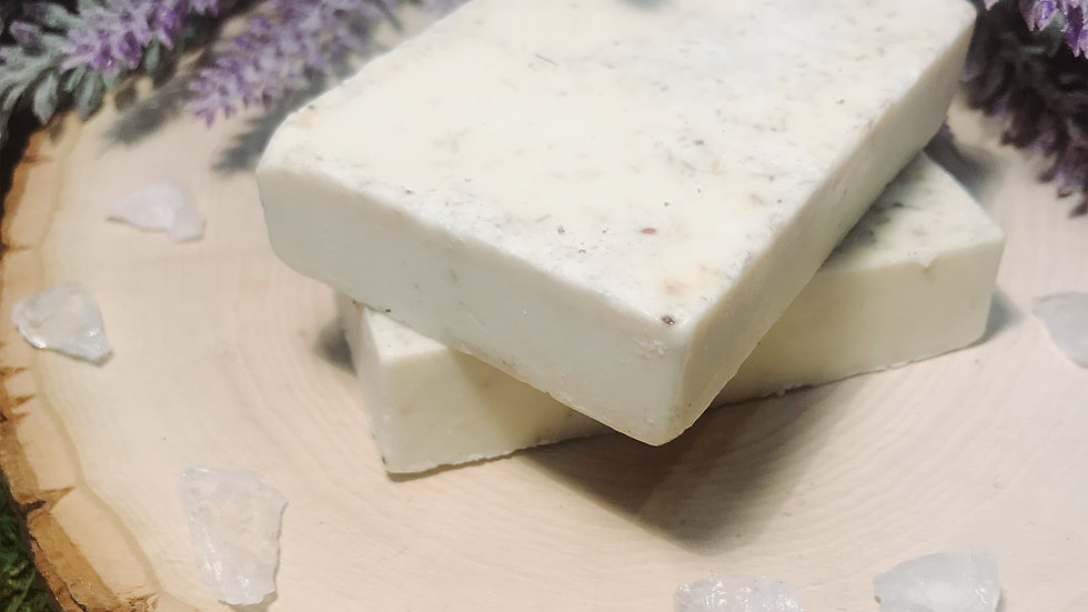 Oatmeal and Goats milk Shea Butter Soap