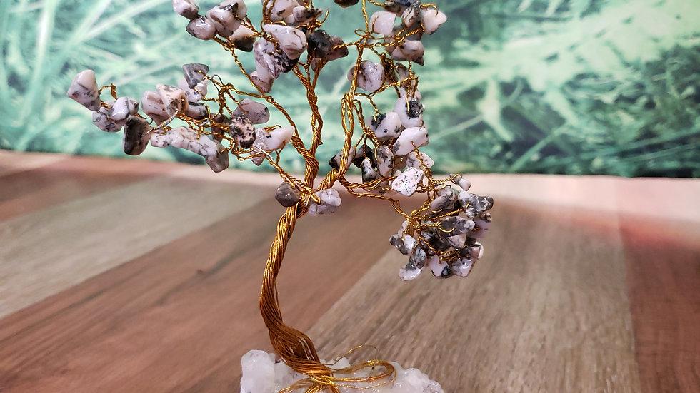 Tree Agate Crystal Tree
