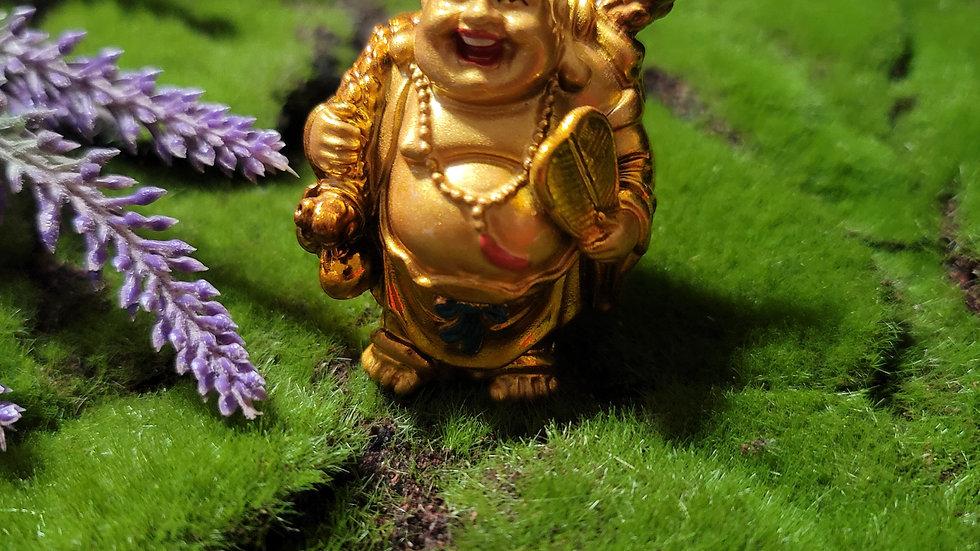 Gold Good Luck Buddha