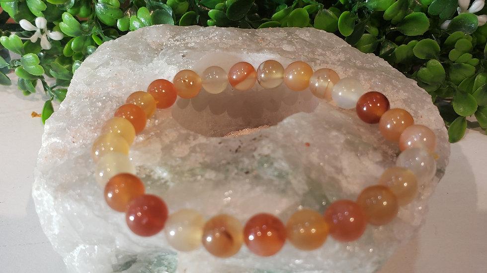 Hematoid Quartz Bracelet