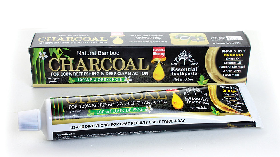 Natural Charcoal Tooth Paste