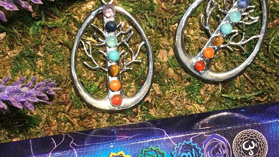 Pear Tree Chakra Pendant