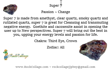 Collage Crystals: Super 7