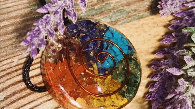 Circle Orgone Pendant