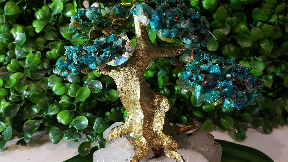 Chrysocolla Bonsai Tree