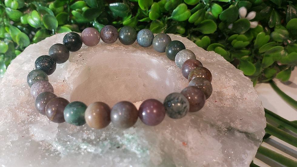 Indian Agate ( Fancy Agate ) Bracelet