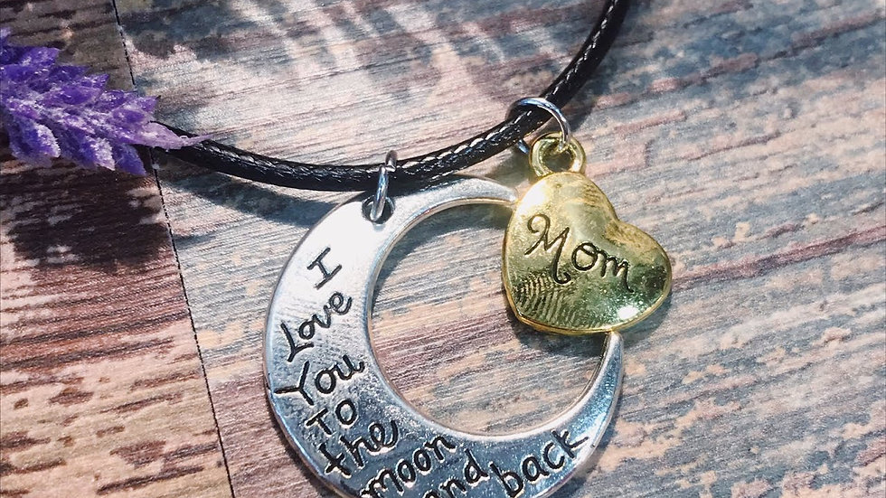 I love you Mom Pendant