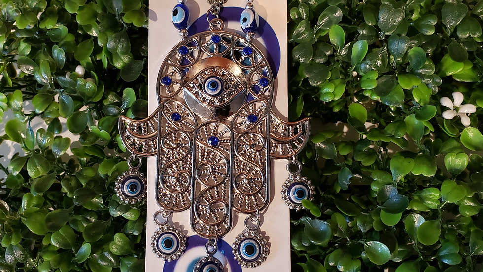 Hamsa Evil Eye Wall Hang
