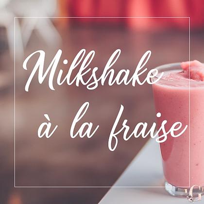 MILKSHAKE A LA FRAISE