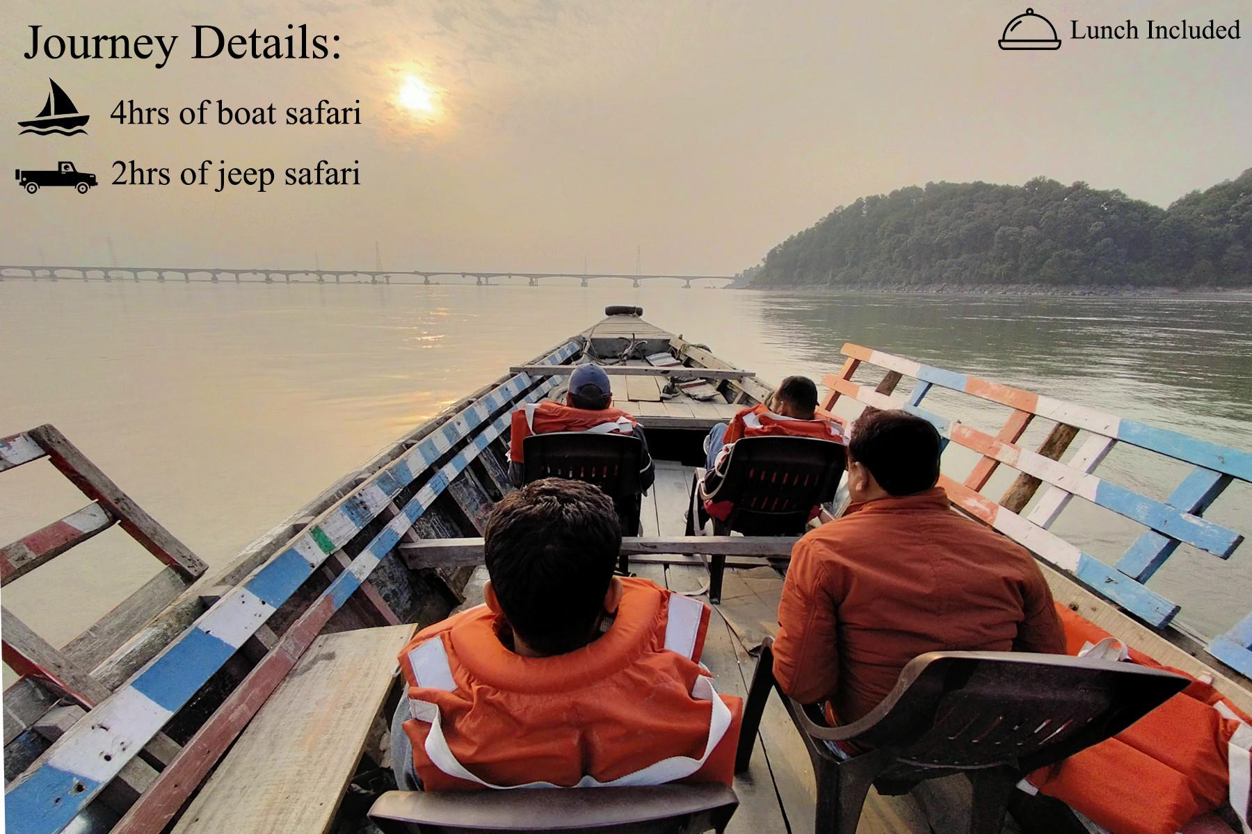 Kaziranga Boat & Jeep safari