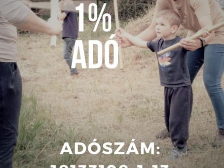 Adó 1 % felajánlás
