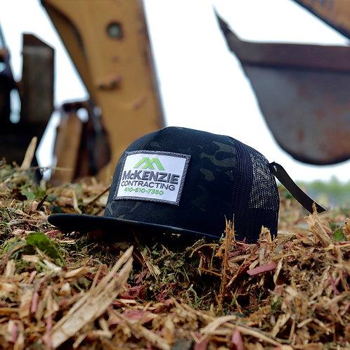 McKenzie Trucker Hat - Dark Camo