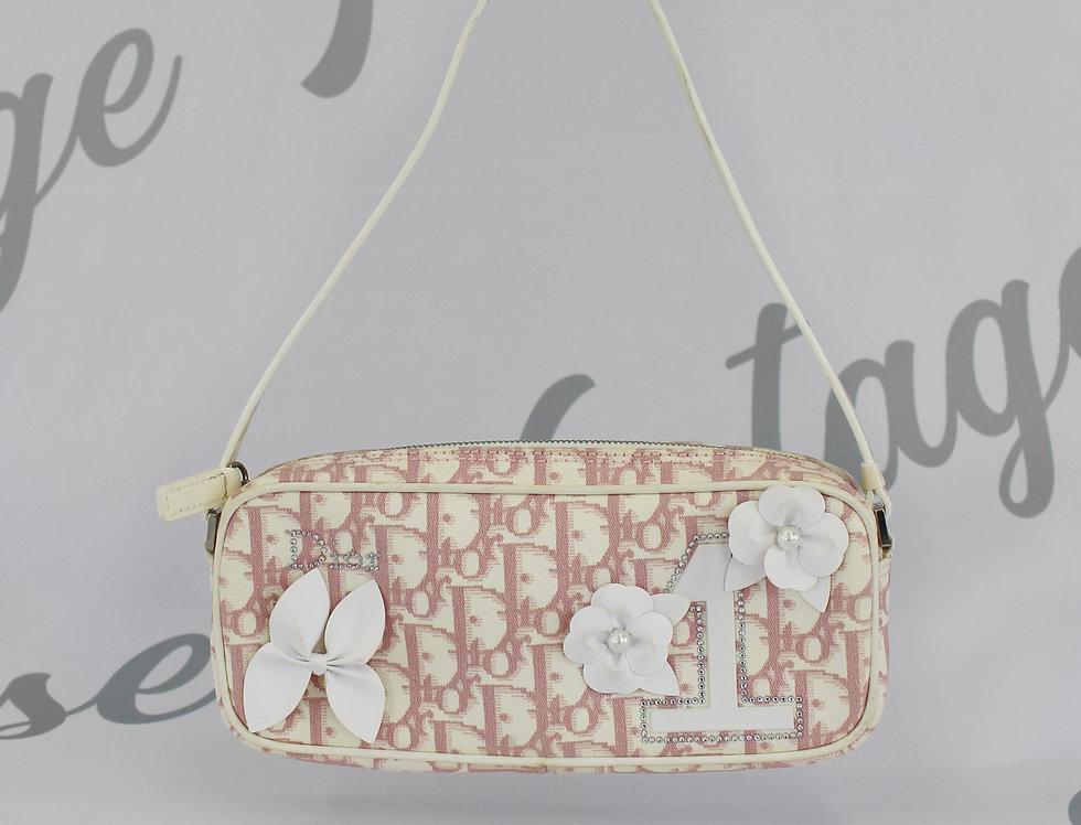 Christian Dior Pink Monogram Mini Bag