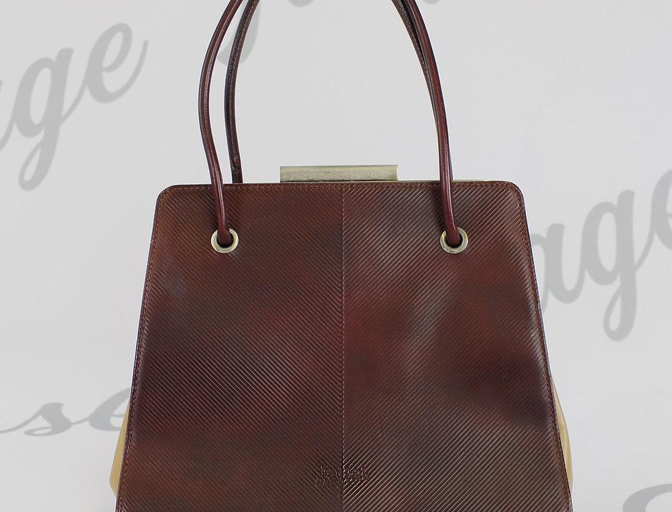 Jean Paul Gaultier Burgundy Handbag