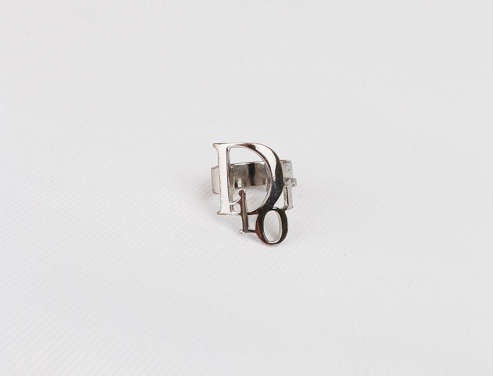 Vintage Dior Logo Ring