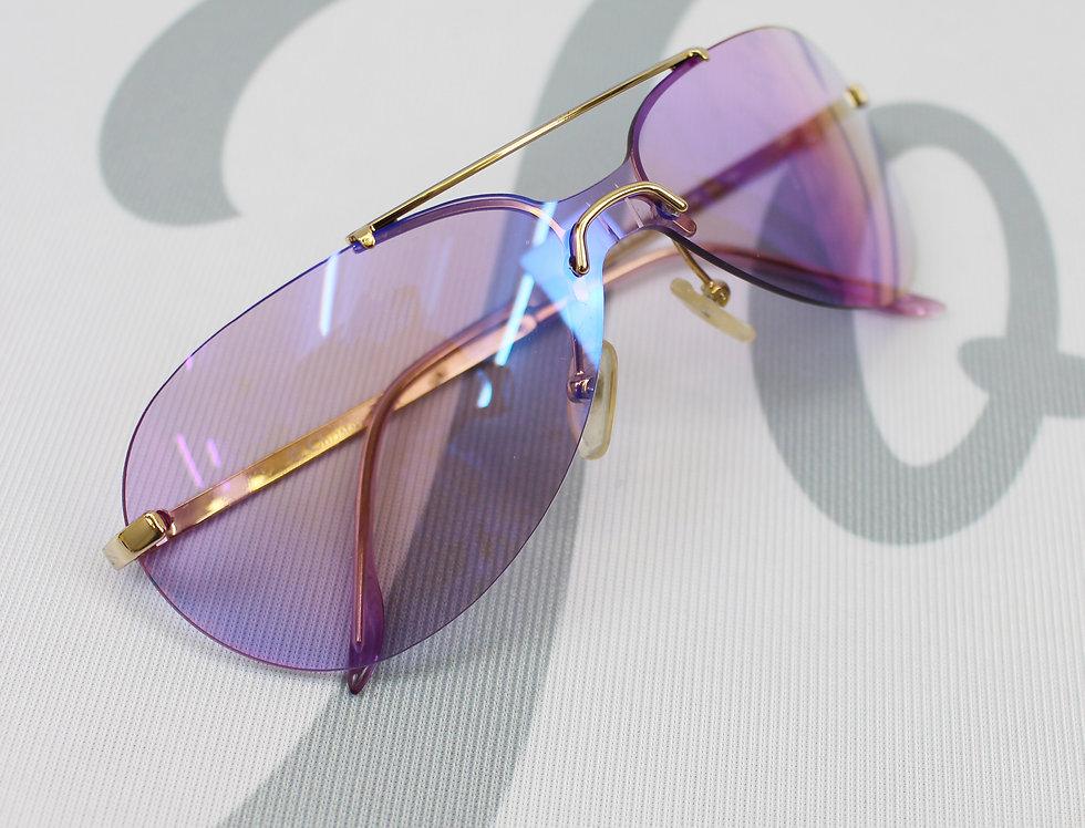 Christian Dior Purple Aviator Glasses