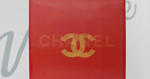 Cerise Red Holographic CC Chanel Bag 3D Handbag Party Bag