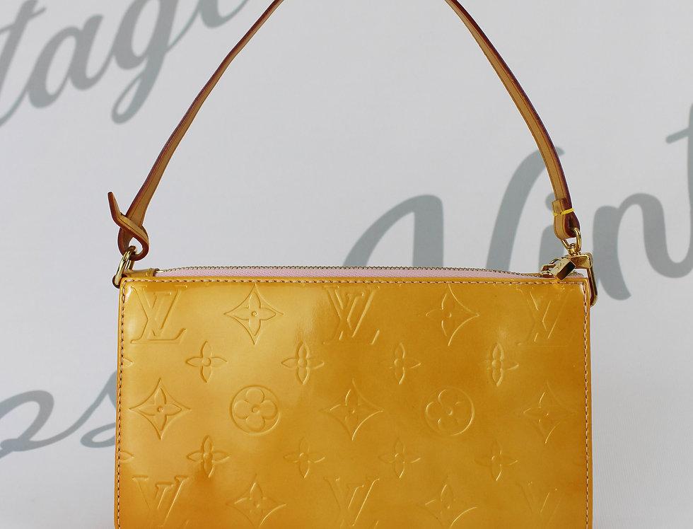 Louis Vuitton Vernis Mini Bag Orange Handbag Pochette