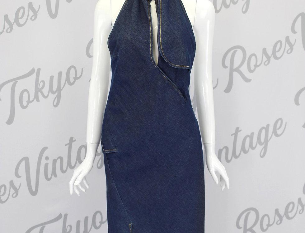 Christian Dior by John Galliano Denim Dress S/S 2000