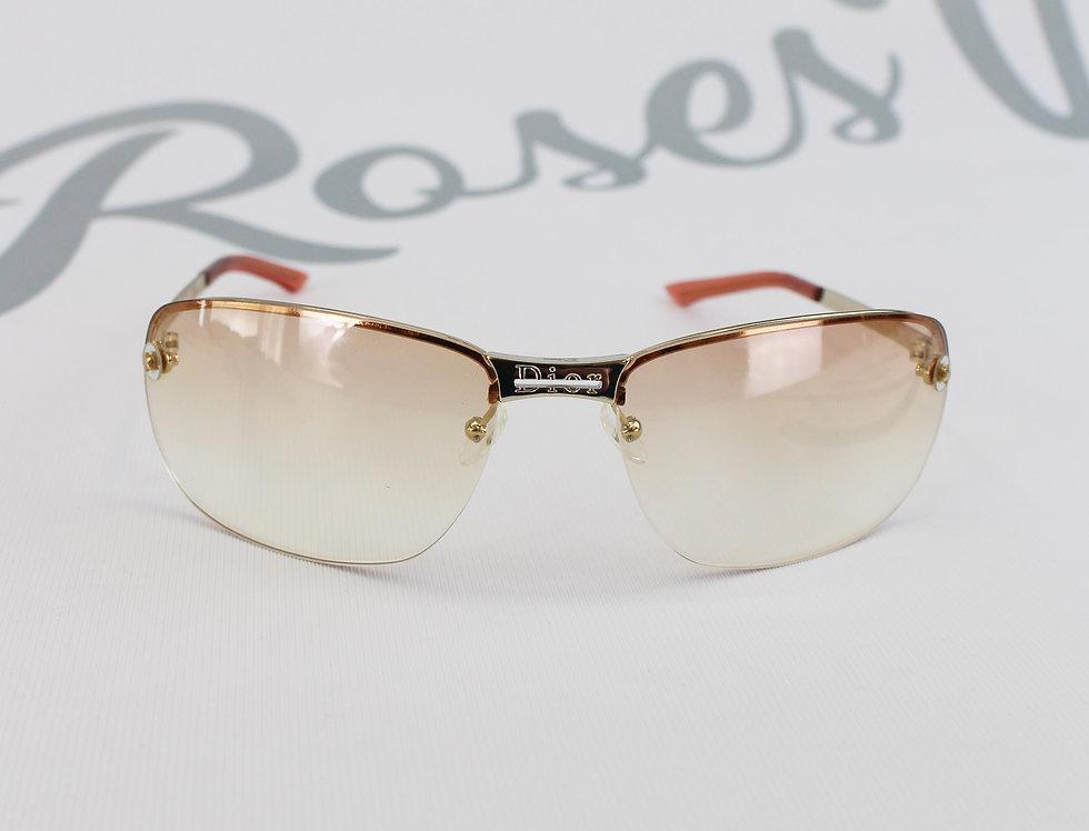 Christian Dior 2000s Logo Center Sunglasses