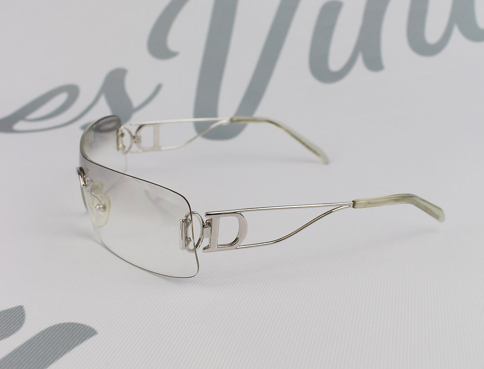 Christian Dior Side D Silver Sunglasses