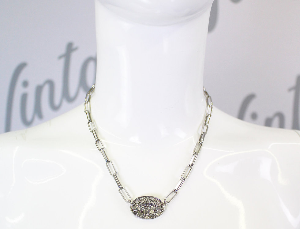 J'adore Dior Rhinestone Necklace
