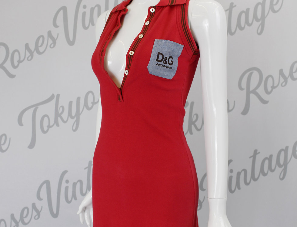 Vintage Dolce & Gabbana Polo Dress