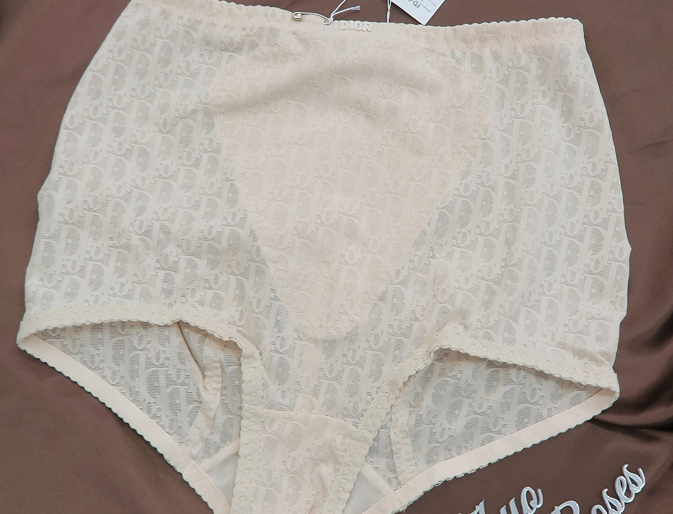 Vintage Christian Dior High Waist Briefs Underwear