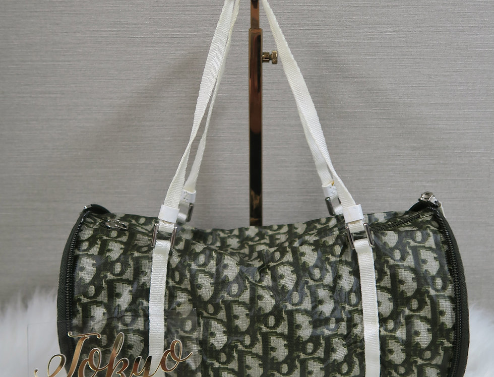 Christian Dior Trotter Monogram Convertible Mini Bag