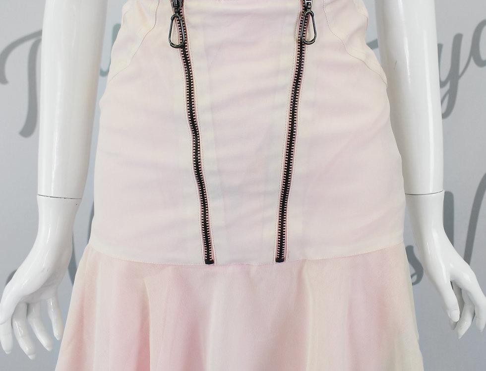Versace Zip Detail Mini Skirt NWT