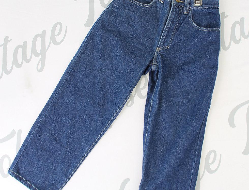 Versace Jeans Denim Boyfriend Style